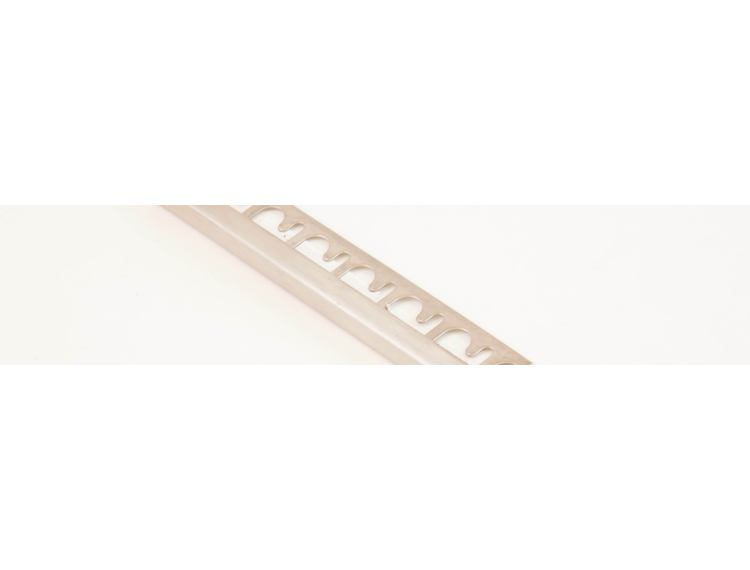 Projolly firkant Symetriclist blankpolert stål 10 mm 270 cm