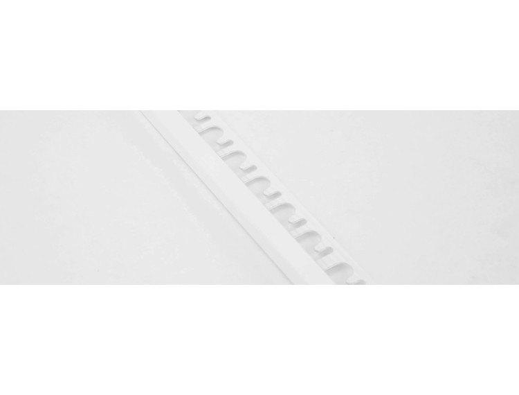 Projolly firkant Symetriclist hvit alu 10 mm 270 cm
