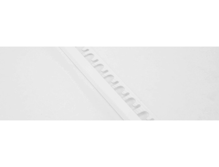 Projolly firkant Symetriclist hvit alu 12,5 mm 270 cm