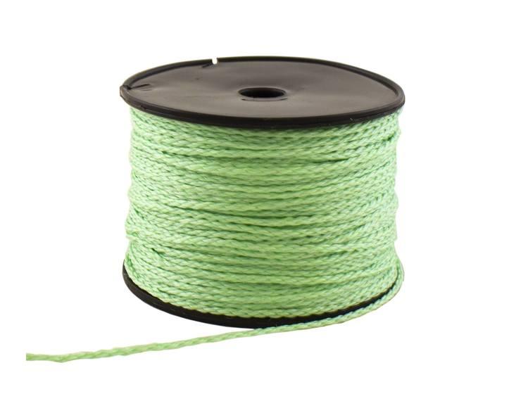Mursnor neon grønn 2mm 100m