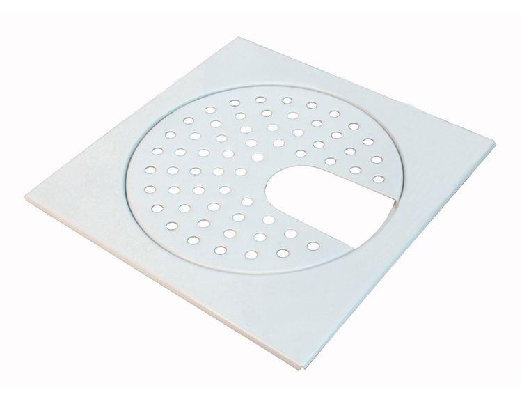 Slukrist 20x20 cm hvit med uthugg