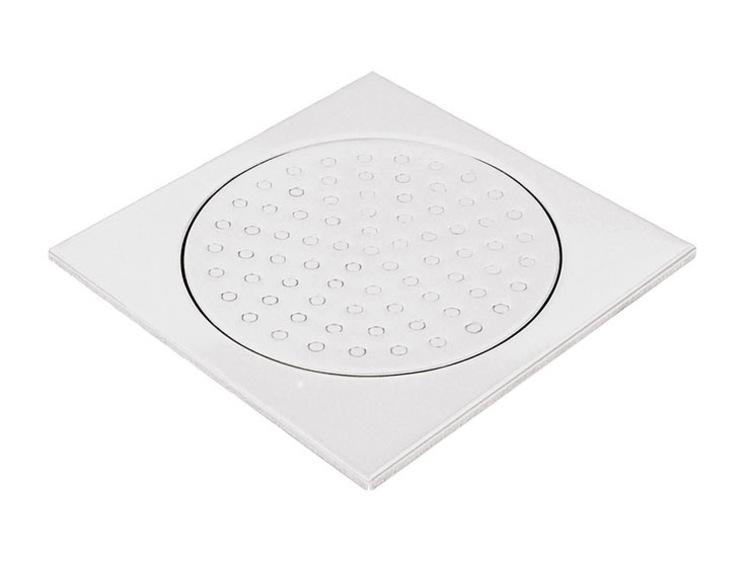 Slukrist 20x20 cm hvit uten uthugg