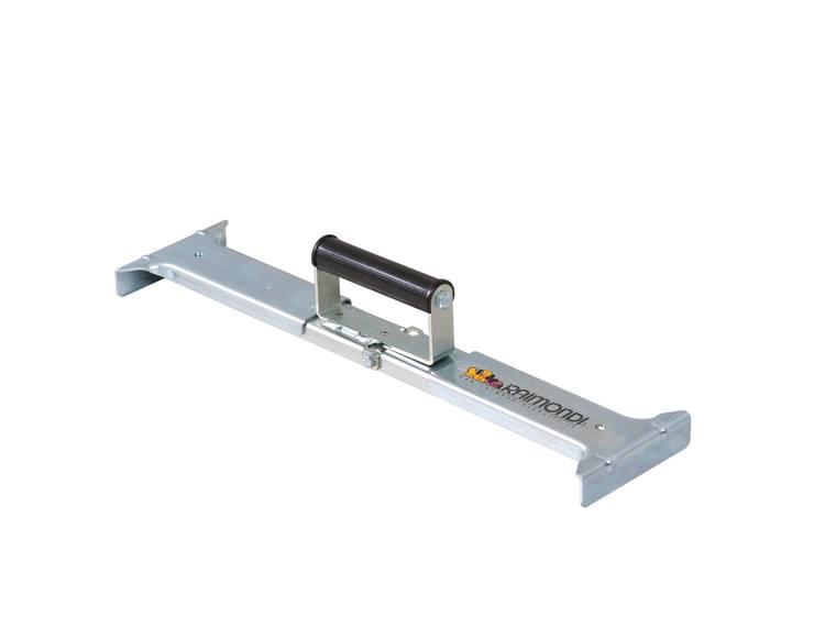 Justerbar klype for 2 cm flis 50-65cm