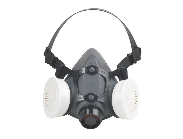 Halvmaske North kit med to filter