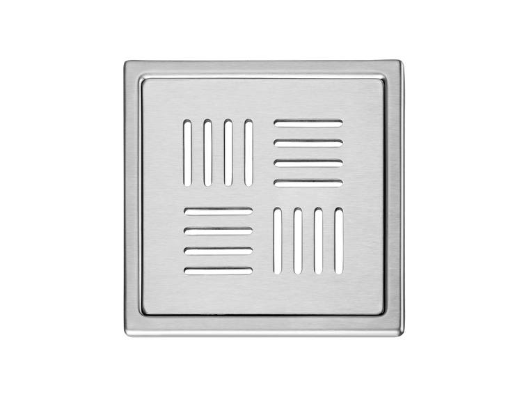 Design Slukrist N°13 20x20cm børstet stål