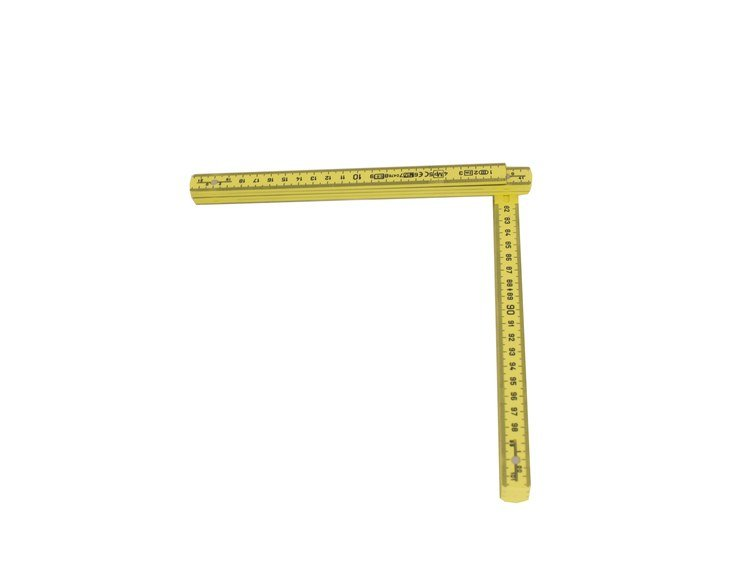 Meterstokk MM/MM Kapriol i plast 2 m
