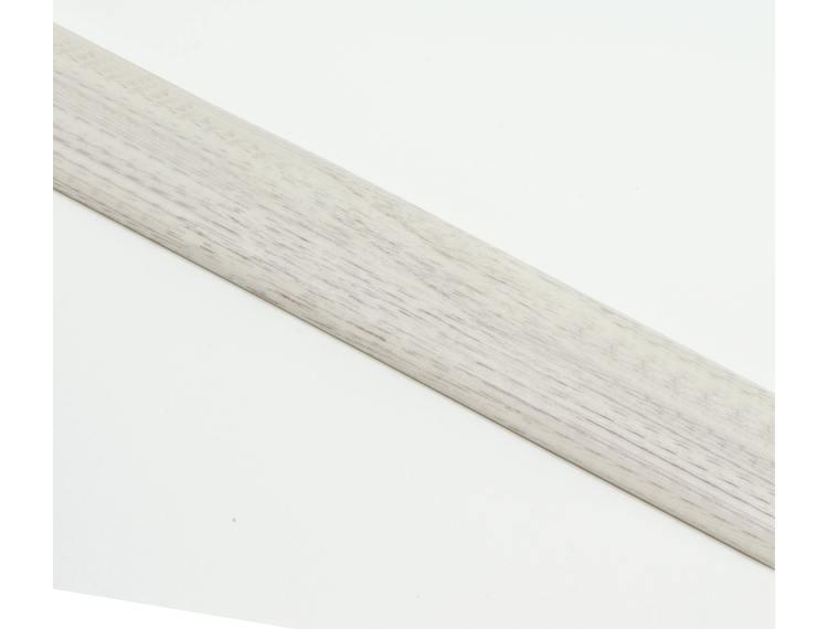 SOL 40P Overgangslist selvklb. alu trefarget White oak 40mm 270 cm