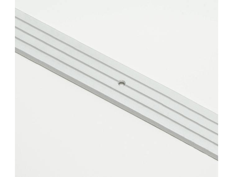 Prolevall overgangslist eloksert alu m/skruer 35 mm 93 cm