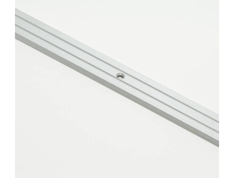 Prolevall overgangslist eloksert alu m/skruer 25 mm 93 cm
