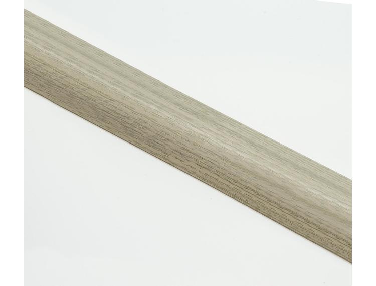 Zero Curve overgangslist m/base 7-9 mm alu Grace oak 90 cm