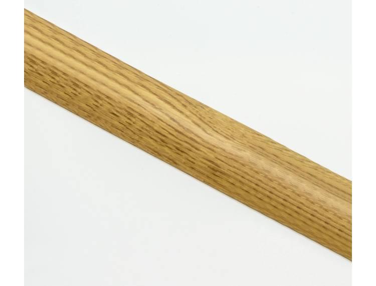 Zero Curve overgangslist m/base 10-12 mm alu Light oak 90 cm