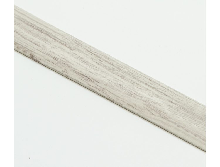 Zero Curve Overgangslist selvklb. 7-11 mm alu White oak 90 cm
