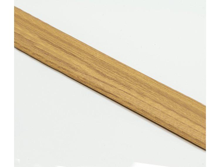 SOL 30 Overgangslist selvklb. alu trefarget Light oak 30mm 90 cm