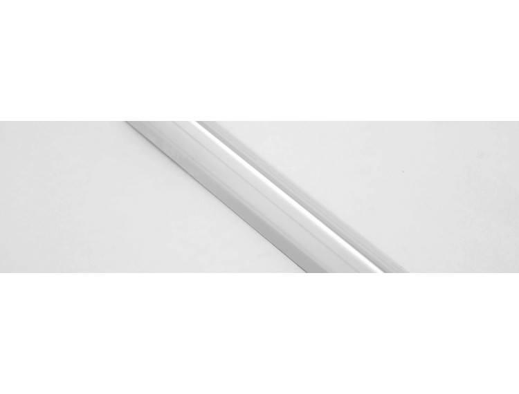 Proedge AC utenpåliggende hj.list 25 mm polert stål selv.kleb.