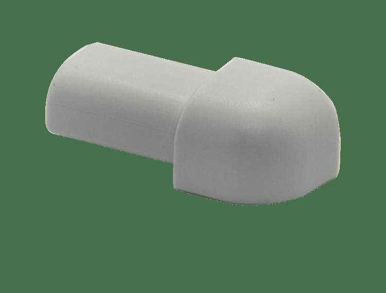 Projolly Quart treveis hjørne lys grå PVC 12,5 mm 5 pk