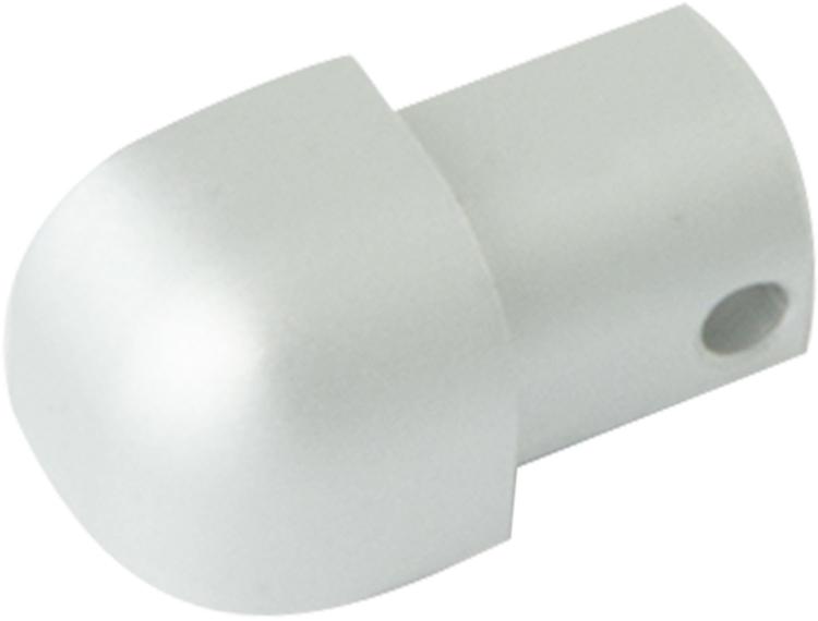 Projolly Quart treveis hjørne eloksert alu 12,5 mm 2pk.