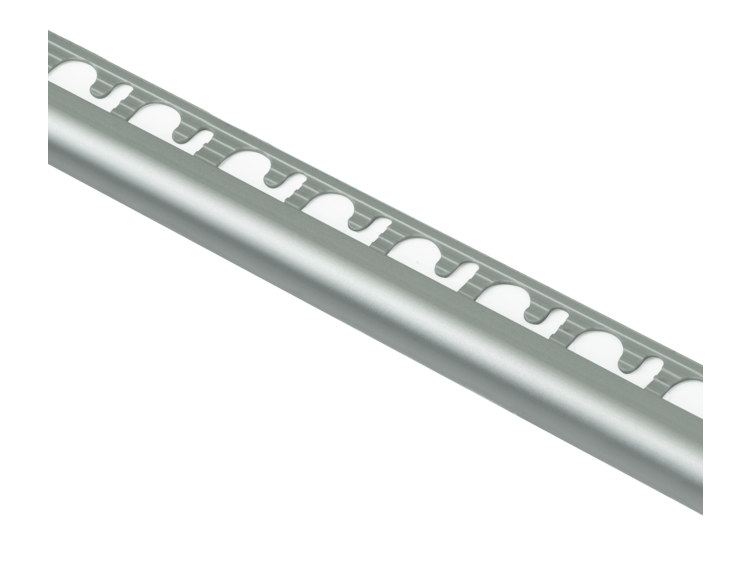 Projolly Quart rund list eloksert alu 10 mm 270 cm