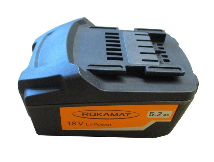 Rokamat Batteripakke 5,2 Ah 18V