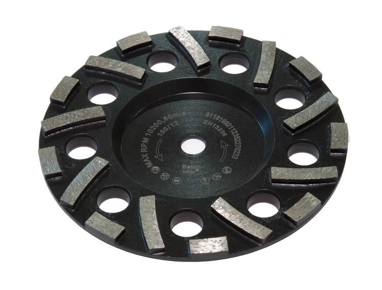 Rokamat Gex Diamantslipekopp Black universal for grove overflater Ø150 mm