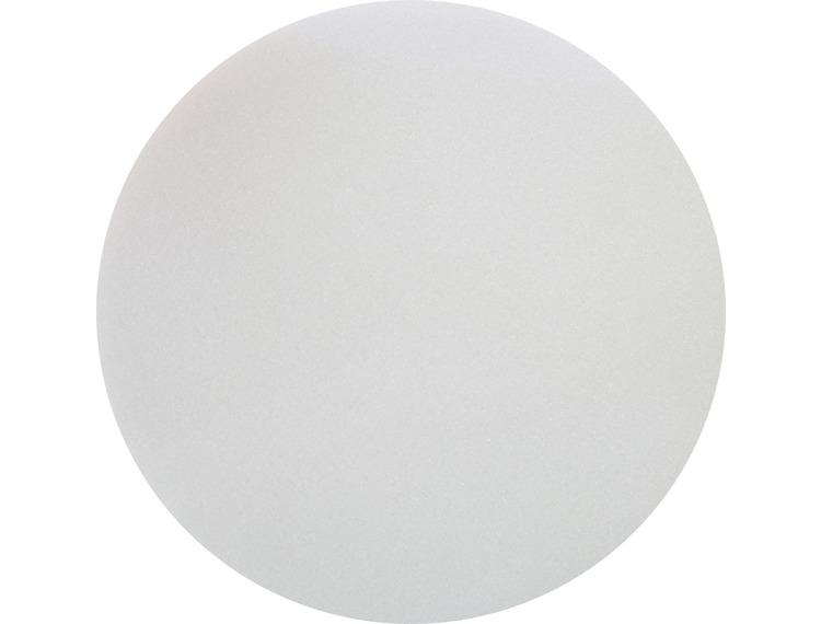 Rokamat Dry/Sponge float -superfin svamp på plast bakplate Ø350 mm