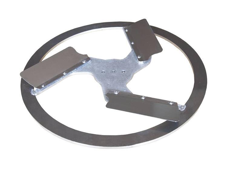 Rokamat Dry/Sponge float -  Metall utlegger Ø450