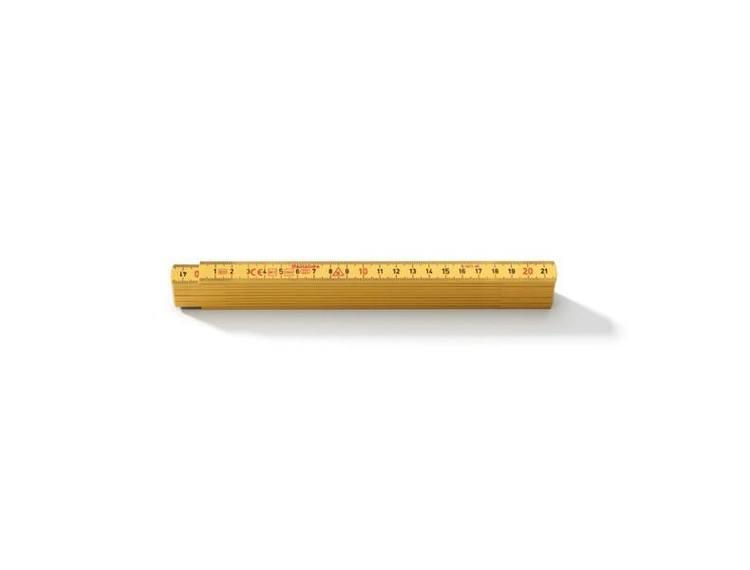 Hultafors MM/MM meterstokk i plast 1m