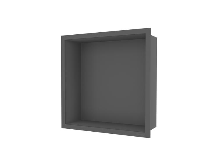 ESS Container F-box veggnisje antrasitt, ramme antrasitt 30x30x10 cm