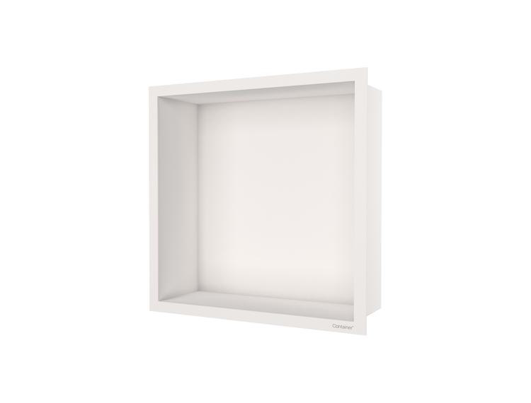 ESS Container F-box veggnisje krem, ramme krem 30x30x10 cm