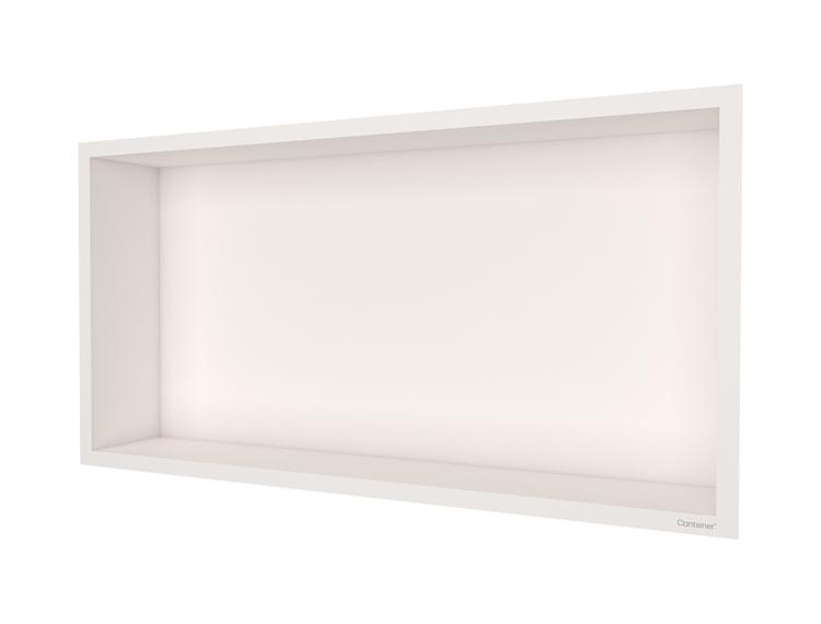 ESS Container F-box veggnisje krem, ramme krem 60x30x10 cm