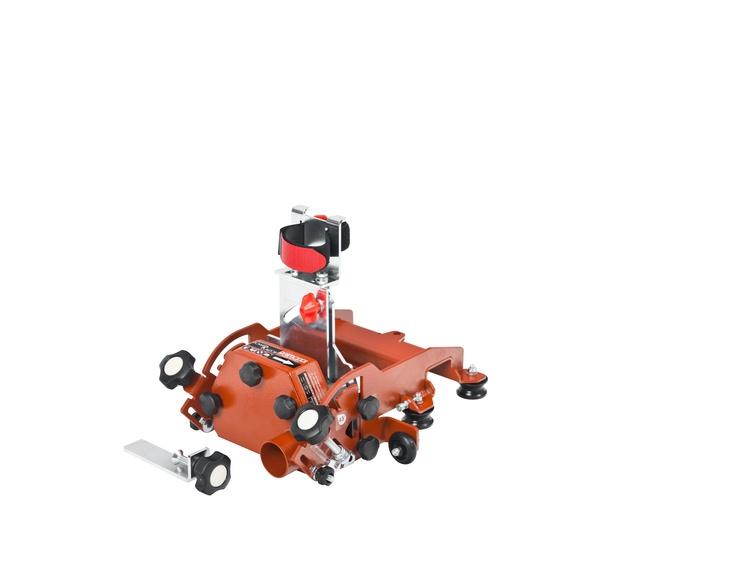 Power Raizor holder for vinkelsliper, 45/90/180° med turbo 125 mm
