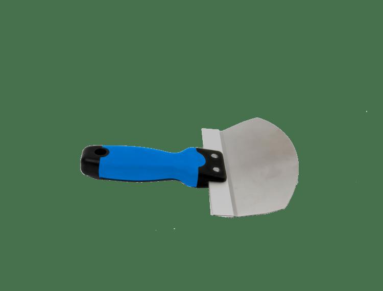 Bøtteskje avrundet med softgrep 165 mm Rustfritt stål